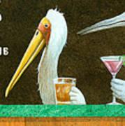 The Stork Club... Art Print