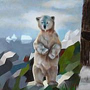 The Story Of The White Bear Art Print