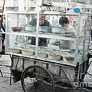 The Street Vendor Art Print