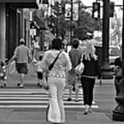 The Streets Of Nashville Art Print
