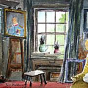 The Studio Of Juliet Pannett Art Print
