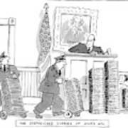 The Subpoenaed Diaries Of Anis Nin Art Print By Jack Ziegler