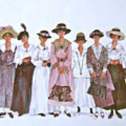 The Suffragettes Art Print