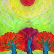 The Sun Three Art Print