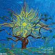 The Sun Tree Art Print