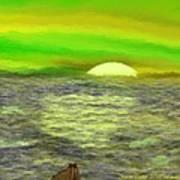 The Sun.do Not Go. Art Print