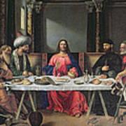 The Supper At Emmaus Art Print