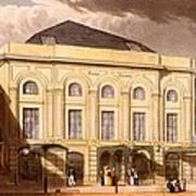 The Surrey Theatre, London, 1826 Art Print