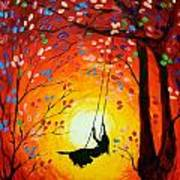 The Swing Original Painting Art Print