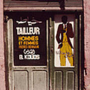 The Tailor Art Print