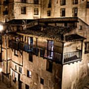 The Tall Houses Of Albarracin Art Print