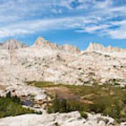 The Tall Peaks Of Granite Park Art Print