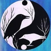 The Tao Of Crow Art Print