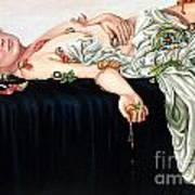 The Tapas Of April Art Print by Shelley Laffal