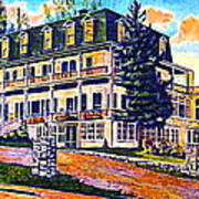 The Tavern Inn In Wilmington N Y In 1910 Art Print