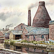 The Teapot Factory Art Print
