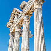 The Temple Of Apollo Art Print by Luis Alvarenga