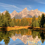 The Tetons Art Print
