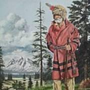 The Tetons Visitor Art Print