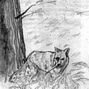 The Teutonic Fox Art Print