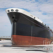 The Texas Cargo Ship Art Print