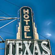 The Texas Hotel Art Print