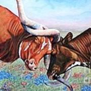 The Texas Twist Art Print
