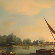 The Thames At Chelsea Art Print
