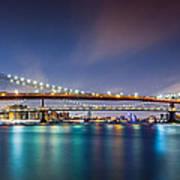 The Three Bridges Art Print