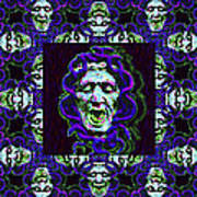 The Three Medusas 20130131 - Horizontal Print by Wingsdomain Art and Photography