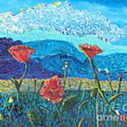 The Three Poppies Art Print