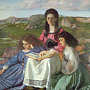 The Three Sisters Of Dean Liddell Art Print