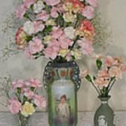 The Three Vases Art Print by Good Taste Art