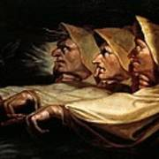 The Three Witches Art Print