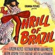 The Thrill Of Brazil, Us Poster, Evelyn Art Print
