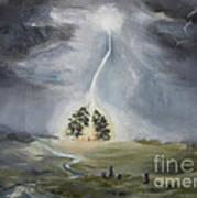 The Thunder Storm Art Print