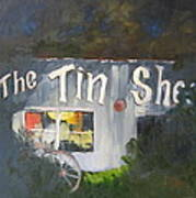 The Tin Shed Art Print