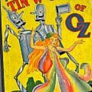 The Tin Woodsman Of Oz Art Print