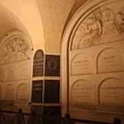 The Tombs At Les Invalides - Paris France - 011335 Art Print