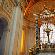 The Tombs At Les Invalides - Paris France - 01135 Art Print by DC Photographer