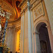 The Tombs At Les Invalides - Paris France - 01138 Art Print