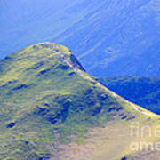 The Top Of Catbells In The Lake District Art Print