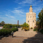 The Torre Del Oro, Gold Tower, Military Art Print