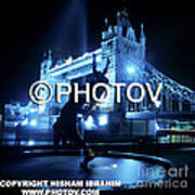 The Tower Bridge At Night  -  Limited Edition Art Print