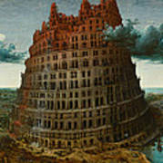 The Tower Of Babel Art Print