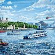The Tower Of London Art Print