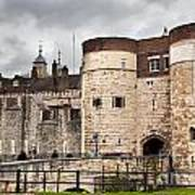 The Tower Of London Uk The Historic Royal Palace And Fortress Art Print