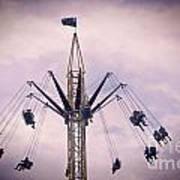 The Tower Swing Ride 1 Art Print