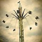 The Tower Swing Ride 2 Art Print