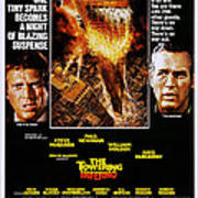 The Towering Inferno, Us Poster Art Art Print